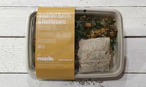 Breakfast Burrito & Hashbrowns- Code#: PM3297