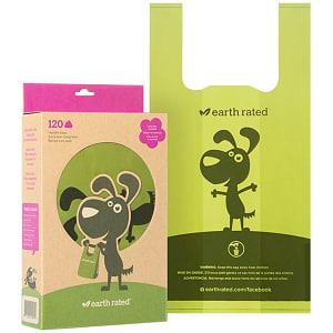 Poop Bags with Handles - Lavender- Code#: PS034