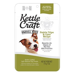 Prairie Tripe & Liver Small Bite Dog Treats- Code#: PT036