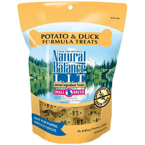 Small Breed Limited Ingredient Treats: Duck & Sweet Potato Dog Treats- Code#: PT109