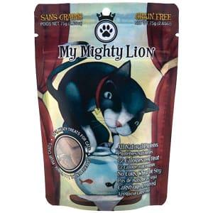 My Mighty Lion - Salmon-licious Cat Treats- Code#: PT503