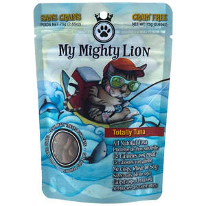 My Mighty Lion - Totally Tuna Cat Treats- Code#: PT505