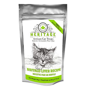 Heritage Artisan Cat Treats - Buffalo Liver Recipe- Code#: PT518
