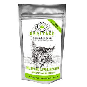 Heritage Artisan Cat Treats - Buffalo Liver Recipe- Code#: PT518