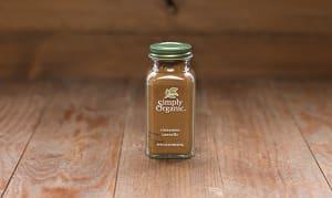 Organic Cinnamon, Ground in Glass Bottle- Code#: SA0132
