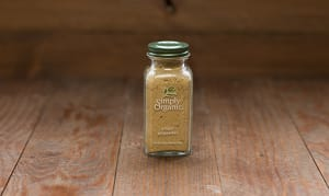 Organic Ginger Root, Ground, in Glass Bottle- Code#: SA0138