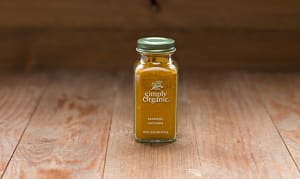 Organic Turmeric Root, Ground in Glass Bottle- Code#: SA0152