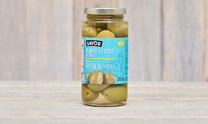 Whole Halkidiki Green Olives- Code#: SA0265