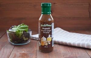 Organic Sesame Ginger Dressing- Code#: SA436