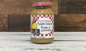 Organic Apple Sauce, Unsweetened- Code#: SA501