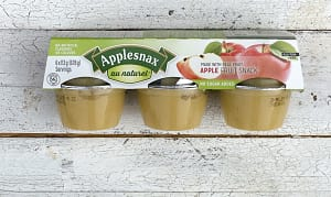 Unsweetened Apple Cups- Code#: SN091