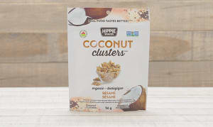 Organic Coconut Clusters - Sesame- Code#: SN1340