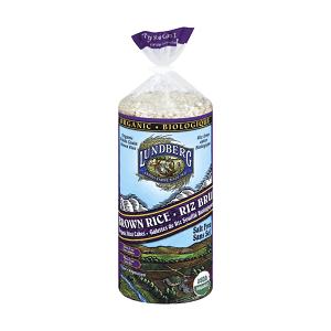 Organic Brown Rice Cakes, Salt Free- Code#: SN155