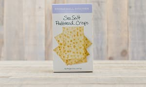 Sea Salt Flatbread Crisps- Code#: SN308