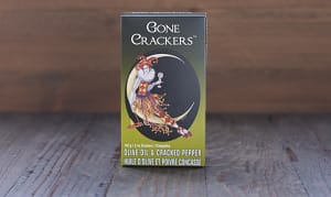 Olive Oil & Cracked Pepper Crackers- Code#: SN762