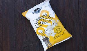 Organic White Cheddar Popcorn- Code#: SN881