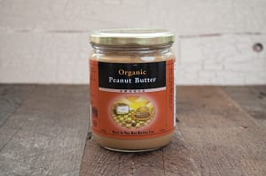 Organic Peanut Butter, Smooth- Code#: SP100