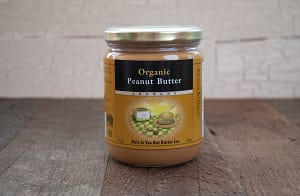 Organic Peanut Butter, Crunchy- Code#: SP101