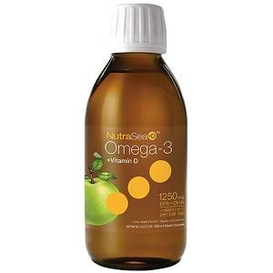 NutraSea +D Omega3 - Apple Flavour- Code#: VT1812