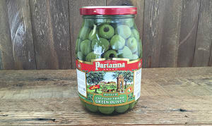 Castelvetrano Green Pitted Olives- Code#: SA8054