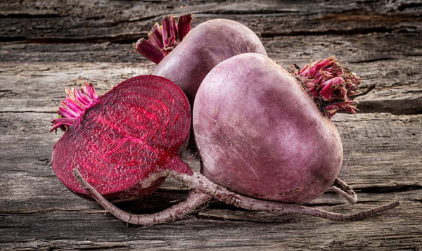 Local Organic Beets, Bagged - Red