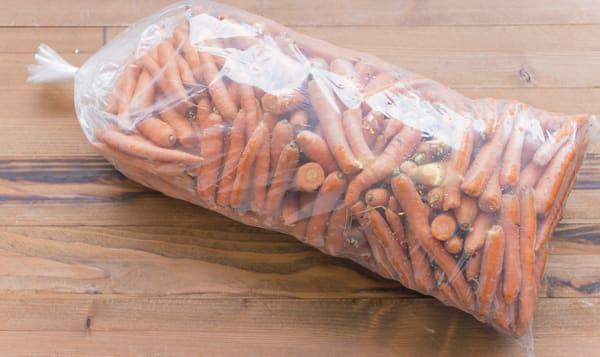 Local Organic Carrots, Imperfect Juicing