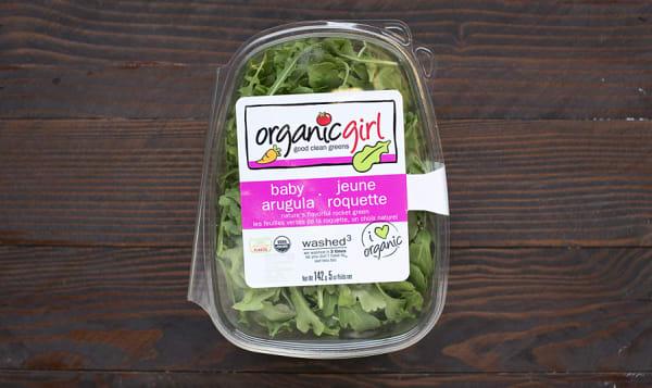 Organic Arugula, OG Baby Arugula