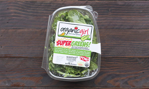 Organic Salad Greens, SuperGreens!