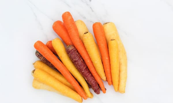 Local Organic Carrots, Mixed Colour - New crop!