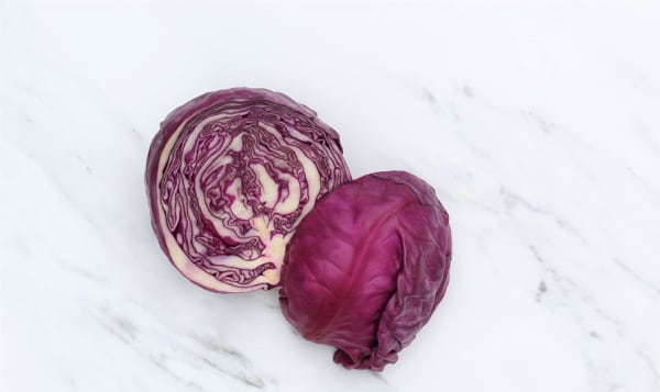 Local Organic Cabbage, Red