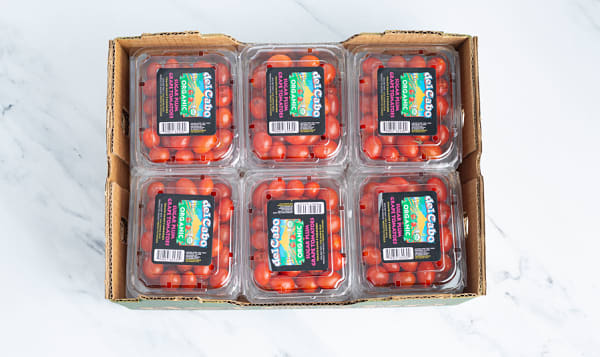 Organic Tomatoes, Grape Cherry - Case