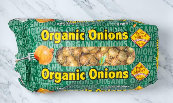 Organic Onions, Yellow - Case
