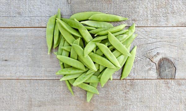 Organic Peas, Sugar Snap
