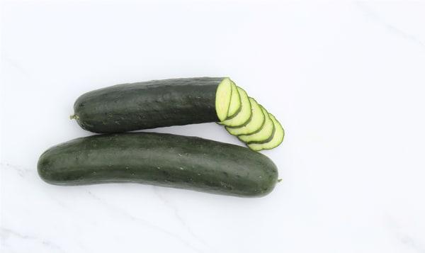 Local Organic Cucumbers, Field
