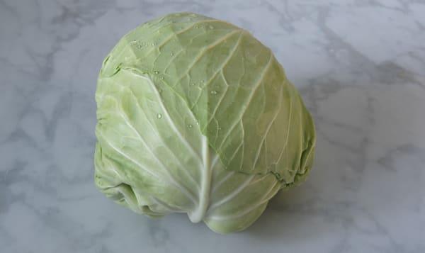 Local Organic Cabbage, Green