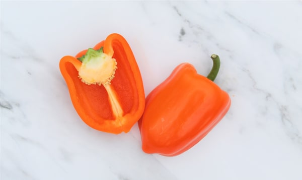 Local Peppers, Orange - or Yellow