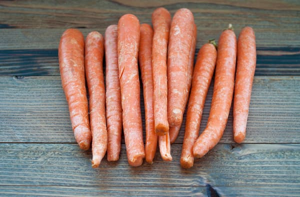 Organic Carrots, Cello, 5 lbs
