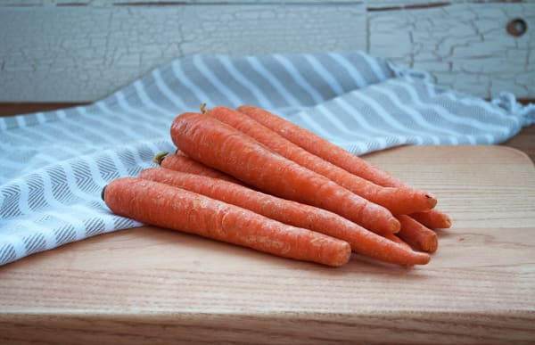 Local Organic Carrots, 3 lb bag