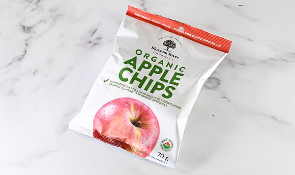 Organic Apples, Apple Chips - Blossom River
