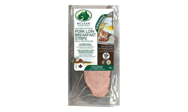 Organic Organic Pork Loin(Back Bacon)