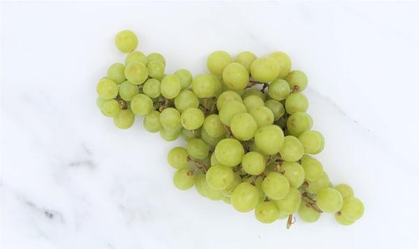 Organic Grapes, Green