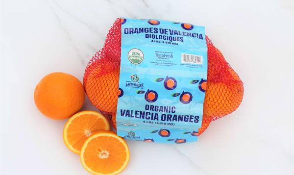 Organic Oranges, Bagged Valencia - Eating/Juicing