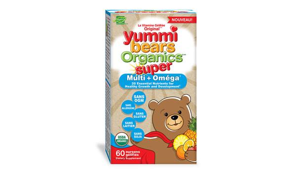 Yummi Bears - Omega 3 with Chia
