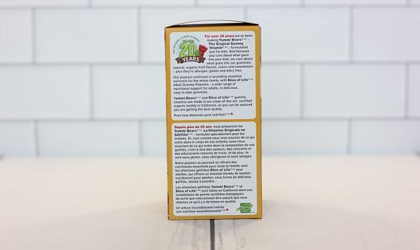 Organic Yummi Bears - Vitamin D3