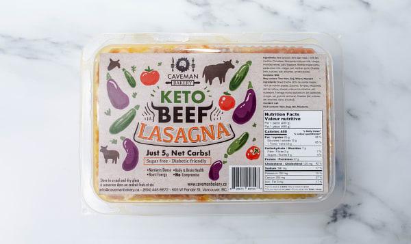 Keto Beef Lasagna
