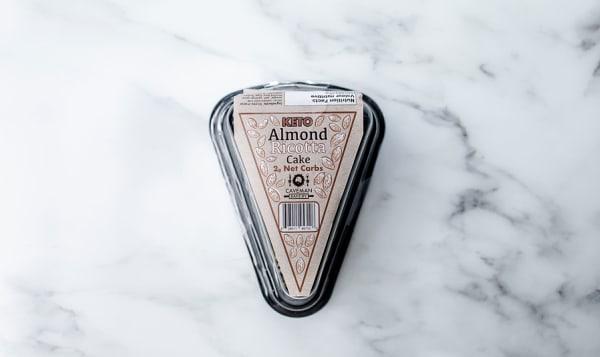 Keto Almond Ricotta Cake