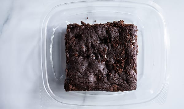 Vegan Choco Walnut Brownie