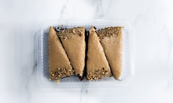 4Pk Keto Chocolate Salty Caramel Cake