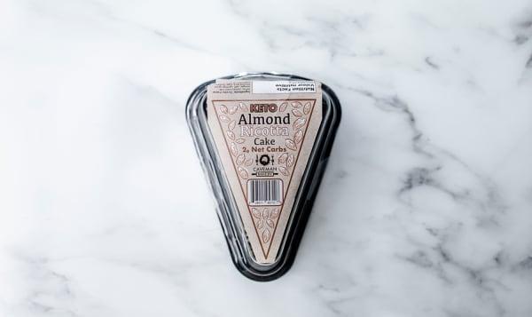 4Pk Keto Almond Ricotta Cake