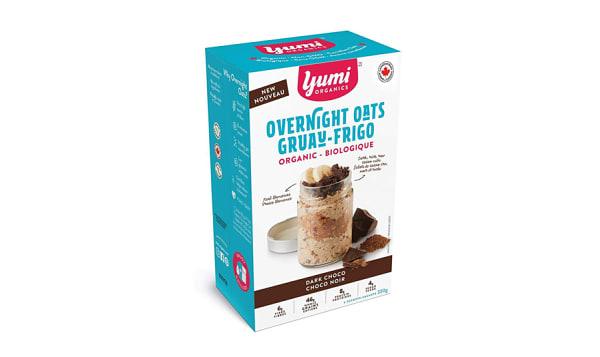 Organic Dark Chocolate Overnight Oats
